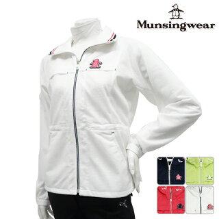 ◆【ブルゾン系】【SL6318】【40%OFF】【春夏モデル】Munsingwear-マンシングウエア-LADYS(レディース)長袖フルジップブルゾン【16】【トップス】【ウエア】M,L,LLサイズ【ゴルフ用品】