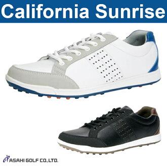 沒有朝陽高爾夫球-朝日高爾夫球-California Sunrise加利福尼亞日出MENS(男子)釘鞋的鞋