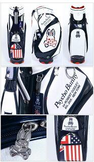 【キャディーバッグ系】【PBMG6SC1】【2016年モデル】PsychoBunny-サイコバニー-MENS(メンズ)キャディバッグ【キャディバッグ・キャディーバッグ・ゴルフ・バッグ】・ゴルフパワーゴルフ