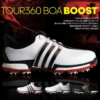 愛迪達-adidas-TOUR360 Boa BOOST旅遊360毛皮圍巾推進MENS(男子)高爾夫球鞋| 運動·戶外高爾夫球功率高爾夫球powergolf郵購Outlet價格
