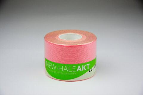 ニューハレロールテープAKT 5cmX5mピンク