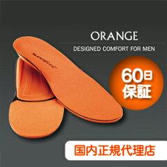 男性の足形状とシューズの特徴を徹底研究して設計されたスーパーフィート オレンジ(SUPER FEET...