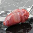 南紅瑪瑙 彫刻 瑪瑙 メノウ 南紅 なんほん 火焔紅 ルース ネックレス 原...
