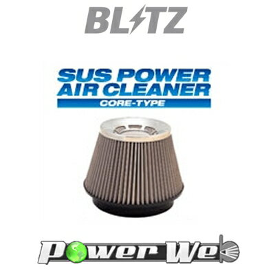 [26182] BLITZ / SUS POWER AIR CLEANER ミラ L502S/L512S 94/09〜98/10 JB-JL