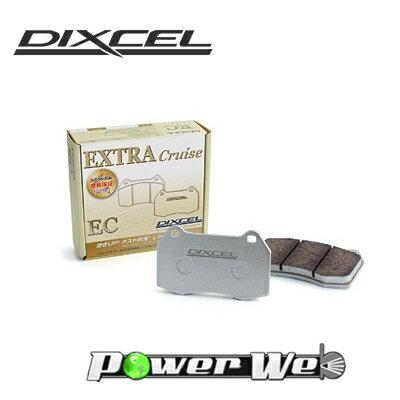 [361075] DIXCEL EC ブレーキパッド フロント用 レガシィツーリングワゴン BR9 12/05〜 2500