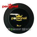 [00362004] personal / ホーンボタン イエローロゴ 1個