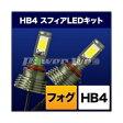 [SHKPG060] SPHERELIGHT フォグ用スフィアLED HB4 コンバージョンキット 6000k HB4