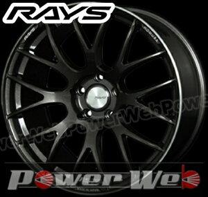 RAYS(レイズ) HOMURA 2x8GTS (ホムラ ツーバイエイトGTS) 18インチ 8.0J PCD:114.3 穴数:5 inset:36 FACE-1 カラー:スーパーダークガンメタ/リムエッジDC [ホイール1本単位]M