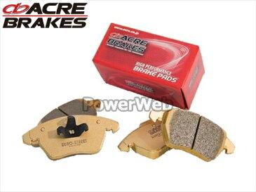 ACRE (アクレ) 品番:β311/β320 ユーロストリート ブレーキパッド 1台分セット BMW MINI R50 1.6 COOPER RA16 01.10〜08.10