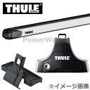 THULE(スーリー) フット:754+バー:891+キット:1340 スバル レガシィ・セダン B4 年式:H15/5〜 形式:BL5,BLE ベースキャリアセット