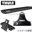 THULE(スーリー) フット:754+バー(ブラック):961B+キ...