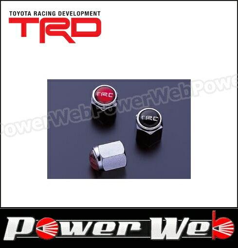 TRD エアバルブキャップ ブラック(4個セット) [90942-SP012-20]画像