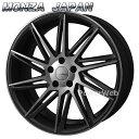 MONZA JAPAN Warwic REVOX (ワーウィック レヴォックス) ハーフグロスブラック/ブラッククリア 20インチ 8.5J PCD:114.3 穴数:5 inset:45 [ホイール単品4本セット]