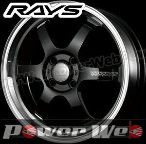 RAYS(レイズ) VOLK RACING TE37 KCR (ボルクレーシング TE37 KCR) 15インチ 5.5J PCD:100 穴数:4 inset:45 FACE-2 カラー:ブラック/FDMCリム [ホイール1本単位]