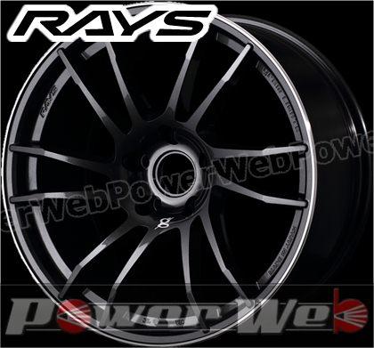 RAYS(レイズ) gram LIGHTS 57XTC (グラムライツ 57エックスティシー) 17インチ 7.0J PCD:100 穴数:4 inset:48 スーパーダークガンメタ/リムダイヤモンドカット/マシニング [ホイール単品4本セット]