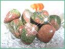 天然石パワーストーンタンブルユナカイト(ユナカ石) 一般 Sサイズ×1個Po...