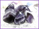 天然石パワーストーンタンブルアメジスト(紫水晶) 濃紫:一般 Sサイズ×1...