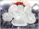 天然石パワーストーンタンブルクリスタル(水晶/石英) 一般  Sサイズ×1個...