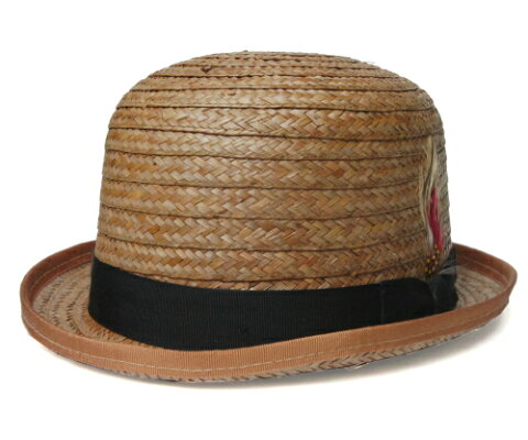 帽子 ストローハット 麦わら ニューヨークハット NEW YORK HAT 2136 COCONUT DERBY ココナッツ ダービー  ボーラーハット メンズ レディース 送料無料 男女兼用 ギフト