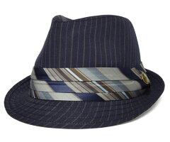 Goorin Brothers グーリンブラザーズ PINK PEARL ネイビー 帽子 ハット 中折れハット 紳士 婦人 メンズ レディーズ 男女兼用