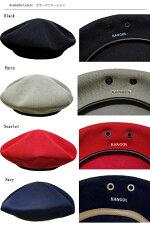 KANGOLカンゴールハンチングベレー帽TROPICMONTYトロピックモンティBlackPuttyScarletNavy