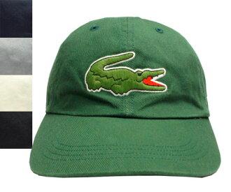 法國鱷魚 Lacoste 6 章 L3935 綠色、 藍色、 灰色、 灰白色、 黑帽低棒球帽男子婦女男女男女皆宜