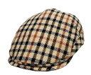 DAKS ダックス D3423 モナコハンチング ハウスチェック 帽子 ハンチング 紳士 婦人 メンズ レディース 男女兼用 ギフト あす楽