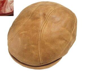 New York Hat ニューヨークハット 9214 vintage leather 1900 ヴィンテージ レザー 1900 Brandy Rust 帽子 ハット ビンテージ 革 ランバスキン 紳士 婦人 メンズ レディース 男女兼用 あす楽 【楽ギフ_包装】