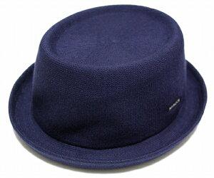 KANGOL BAMBOO MOWBRAY カンゴール バンブー モウブレイ , Navy [ 帽子 ポークパイハット メッシュ メンズ レディース 男女兼用 ]
