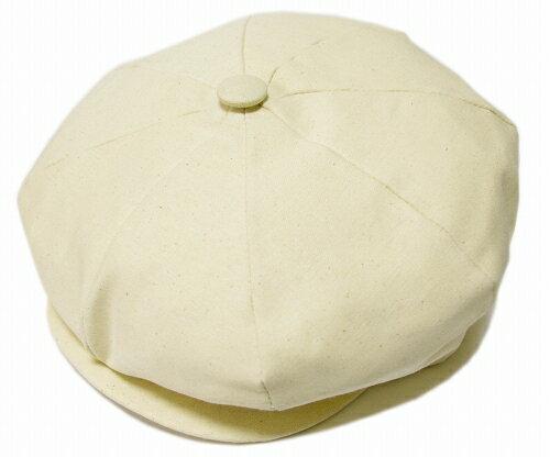 ニューヨークハット NEW YORK HAT  帽子 キャスケット 6218 CANVAS NEWSBOY  Natural