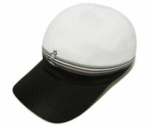 KANGOL(カンゴール) 帽子 キャップ STRIPE AIR SPACECAP, White
