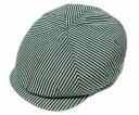 【送料無料】LACOSTE(ラコステ) 帽子 ハンチング(L3907), グリーン