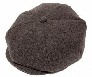 【送料無料】LACOSTE(ラコステ) 帽子 6パネル ウールハンチング(L3810), ブラウン