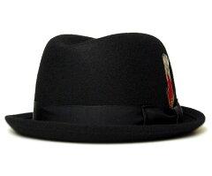 New York Hat(ニューヨークハット) フェルトハット #5241 Rude Boy 2015ver., Black