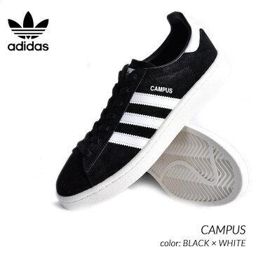 限定 アディダス キャンパス スニーカー adidas CAMPUS BLACK × WHITE ( 黒 ブラック スエード メンズ BZ0084 )