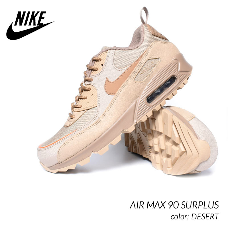 メンズ靴, スニーカー NIKE AIR MAX 90 SURPLUS DESERT ( BEIGE CQ7743-200 )