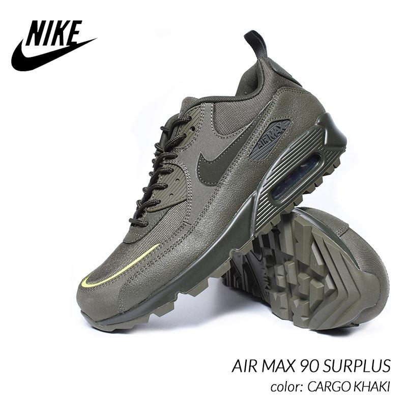 メンズ靴, スニーカー NIKE AIR MAX 90 SURPLUS CARGO KHAKI ( CQ7743-300 )