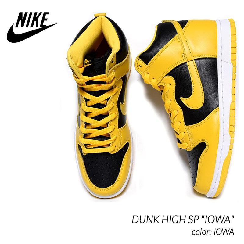 メンズ靴, スニーカー NIKE DUNK HIGH SP IOWA ( CZ8149-002 )