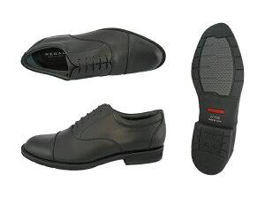 【4/10限定!WエントリーでP最大16倍!楽天カード】 リーガル REGAL 32NR 32NRBB 雨の日に ゴアテックス(r)ファブリクス採用の幅広3Eウィズ ストレートチップ 靴 正規品 メンズ