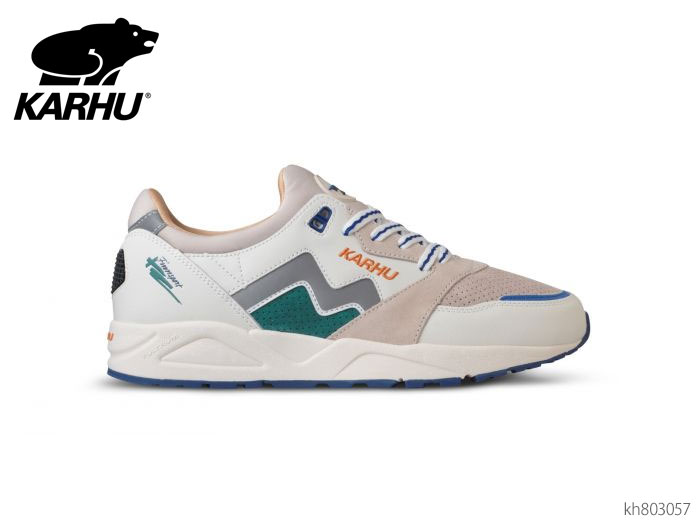 カルフ KARHU KH803057 アリア リリーホワイト/バイユー スニーカー メンズ レディース ユニセックス 靴画像
