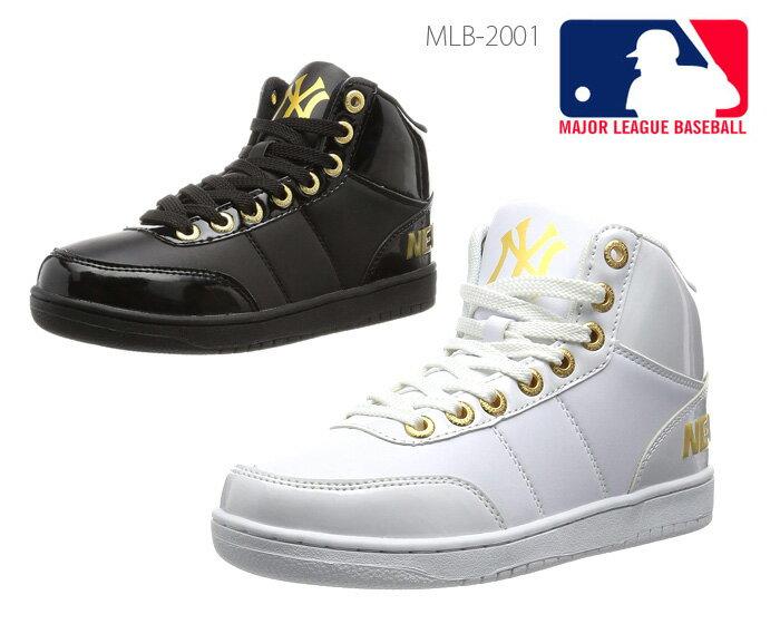 MAJOR LEAGUE BASEBALL MLB MLB-2001 メジャーリーグベースボール カジュアル スニーカー メンズ レディース ユニセックス 男女兼用 ハイカット 正規品画像