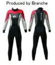 ウェットスーツ ウエットスーツ レディース ウェットスーツ ウエットスーツ レディース フルスーツ  レッド M
