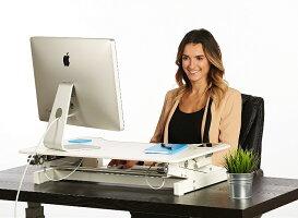 スタンディングデスクスタンディングデスクbhd-700pcデスク角度調節折り畳み式テーブル立ち机高さ調節パソコン昇降