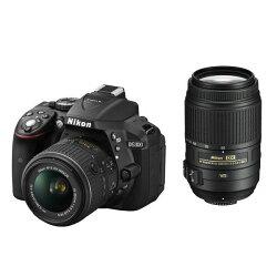 【中古】【1年保証】【美品】NikonD530018-55mm55-300mmVRダブルレンズキット