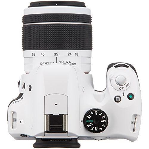 【1年保証】【美品】PENTAX K-50 DAL 18-55mm WR ホワイト
