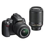 【中古】【1年保証】【美品】 Nikon D5000 ダブルキット 18-55 VR 55-200 VR