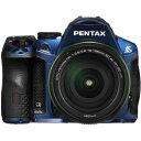 【中古】【1年保証】【美品】 PENTAX K-30 DA 18-135mm WR クリスタルブルー