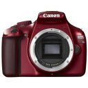 【中古】【1年保証】【美品】Canon EOS Kiss X50 ボディ レッド