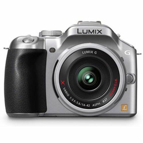 Panasonic LUMIX G5 電動ズーム付属 シルバー