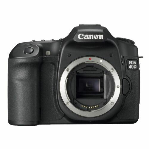デジタルカメラ, デジタル一眼レフカメラ 1Canon EOS 40D
